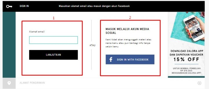 kode voucher zalora indonesia tanpa minimum pembelian