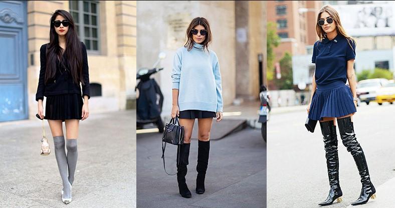 fashion rok mini yang trendi